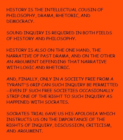 History comes from Hellenism