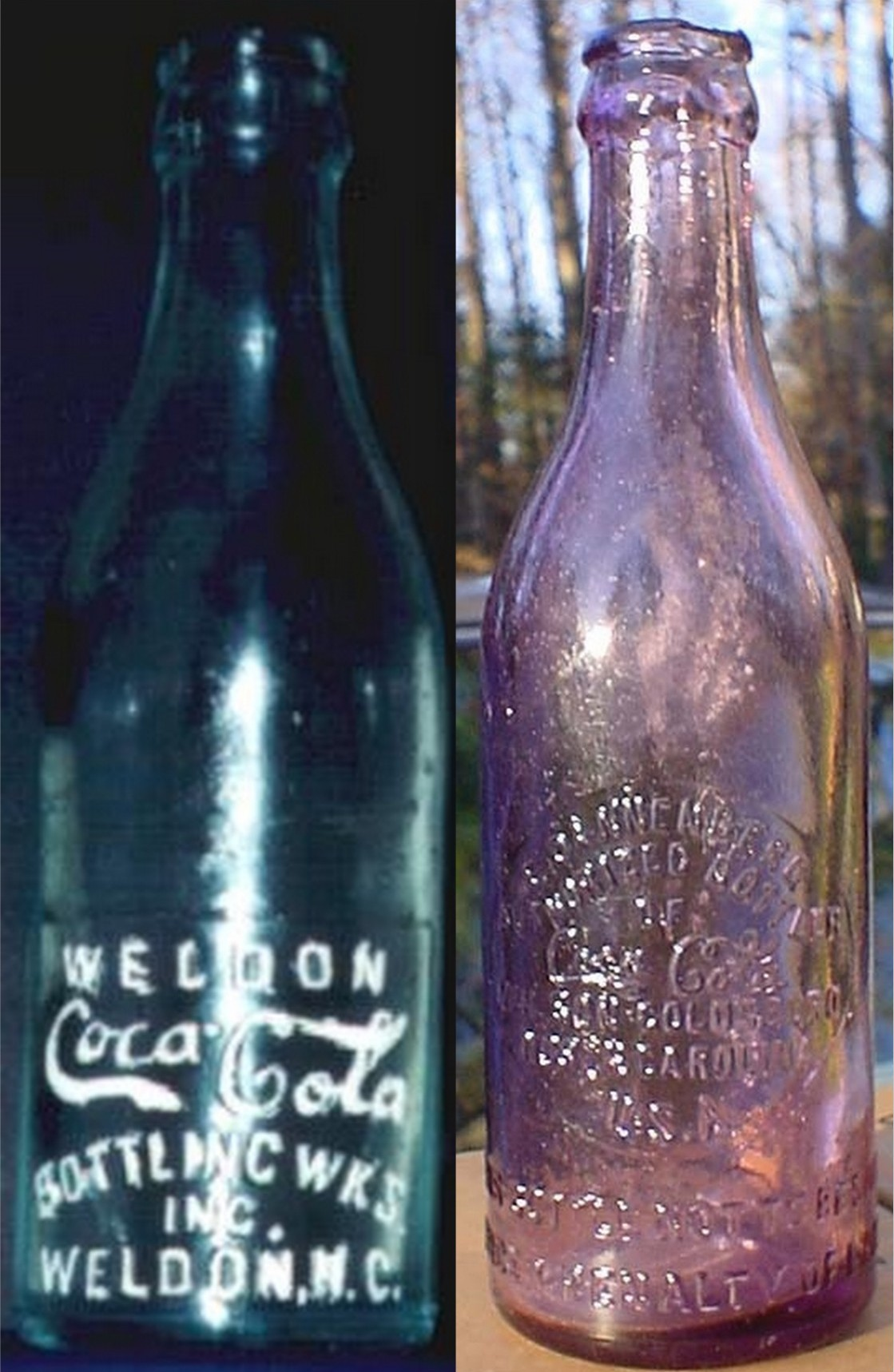 dating straight sided coca cola bottles Coca-cola bottling company  although the national company allowed local bottlers to continued using the straight-sided bottles until 1923.